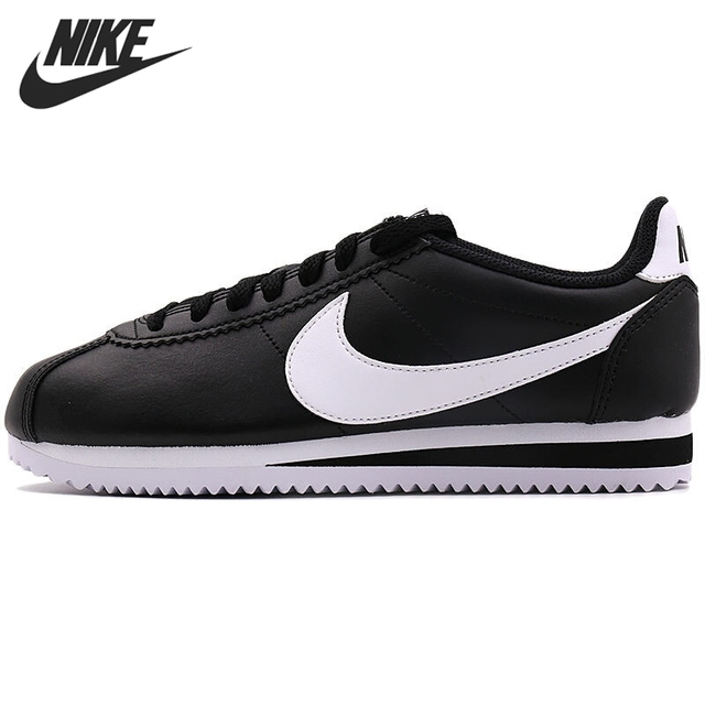 Original New Arrival 2017 NIKE WMNS CLASSIC CORTEZ LEATHER Women's  Skateboarding Shoes Sneakers