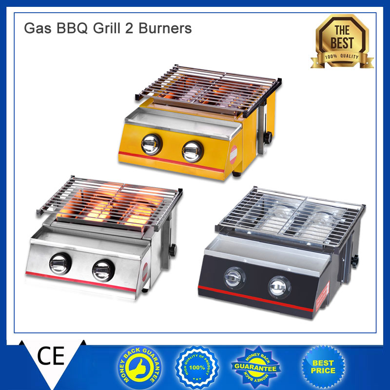 Itop Bbq Gas Grills Barbecue Stove Portable Flat Environmental For Indoor Outdoor Nonstick Roasting Tray Grill Lpg In From Home Garden On