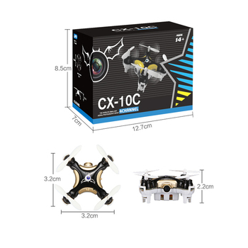 Cheerson CX-10C Mini Quadrocopter 2.4G Mini Drone With 0.3MP Camera CX-10 CX-10A CX10 Quadcopter With Camera Pocket Size 10