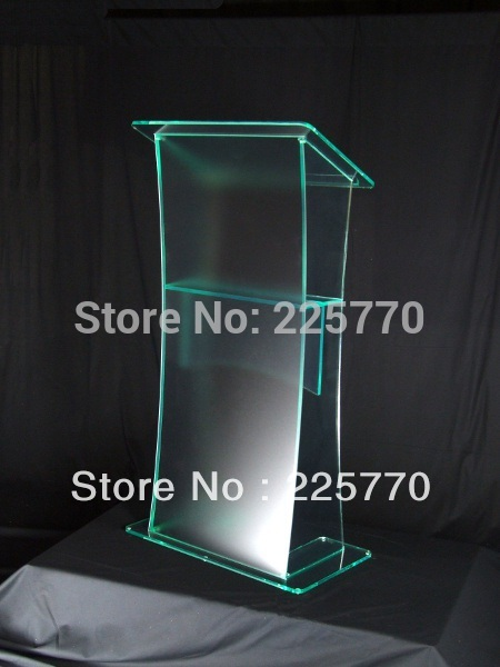 Plexiglass Acrylic Lectern Acrylic Church Lectern Perspex Lectern Plexiglass Pulpit Perspex Podium transparent acrylic school lectern acrylic platform perspex rostrum plexiglass dais cheap church podium