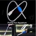 Blanco de alta Calidad Arandela de Plástico Cambiar La Bomba de Agua de Vacío Sifón Limpia Grava Acuario Filtro de Aprox 1.6 m