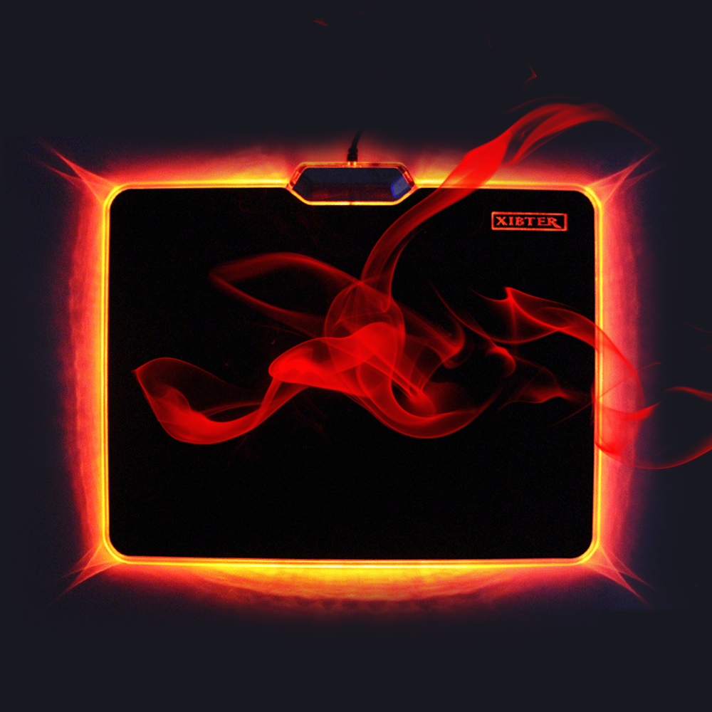 Brand Xibter Mouse Pad Gamer Rubber And PVC Material Unique Design Light Mousepad For CSGO Dota Overwatch MICE Mat Factory Price