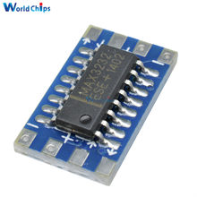 1Pcs Serial Port Mini RS232 to TTL Converter Adaptor Module Board MAX3232 115200bps(China)