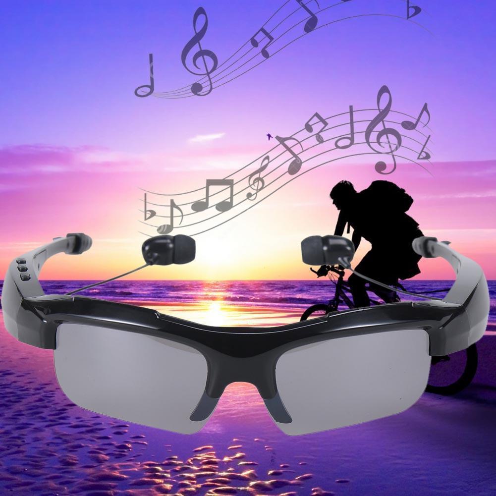 Newest Creative Glasses with Wireless Bluetooth Earphones Headphone Headset Bluetooth Stereo Music Phone Hands free Black A273 big bluetooth wireless headphone earphones