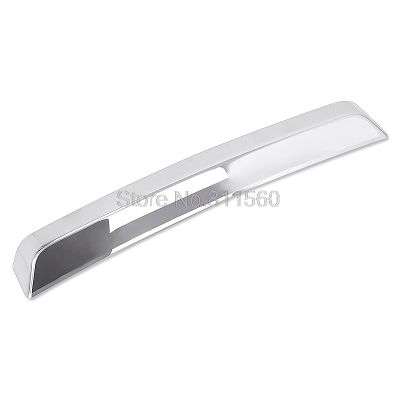 For Land Rover Freelander 2 LR2 2007 2008 2009 2010 2011 ABS Chrome Styling Rear Hatch Boot Trunk Lid Decoration Cover Trim 1pcs new chrome 4pcs interior door handle cover frame trim cover for l and rover freelander 2 lr2 2008 2015 interior mouldings