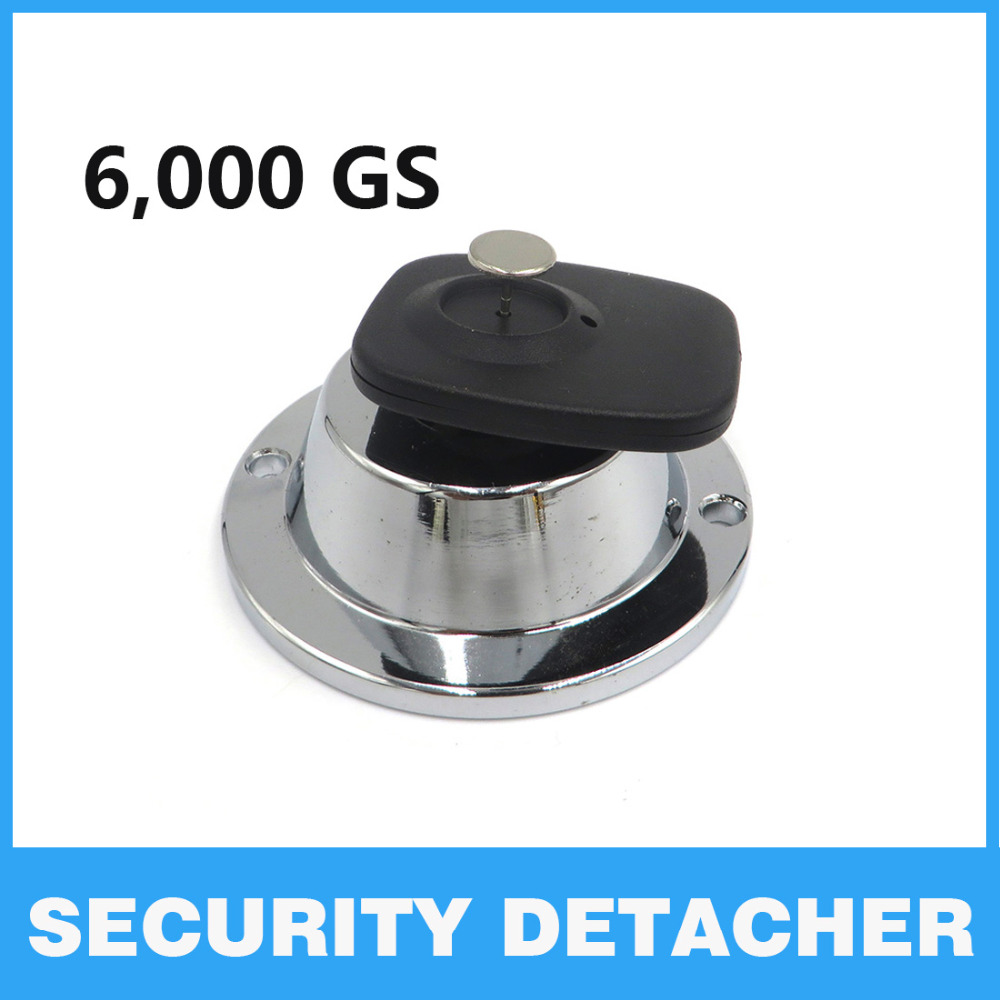 EAS 6000GS Magnetic Security Detacher Magnet Tag remover Supermarket Protection Alarm Hard Tag detacher norveg 9dfm 1m
