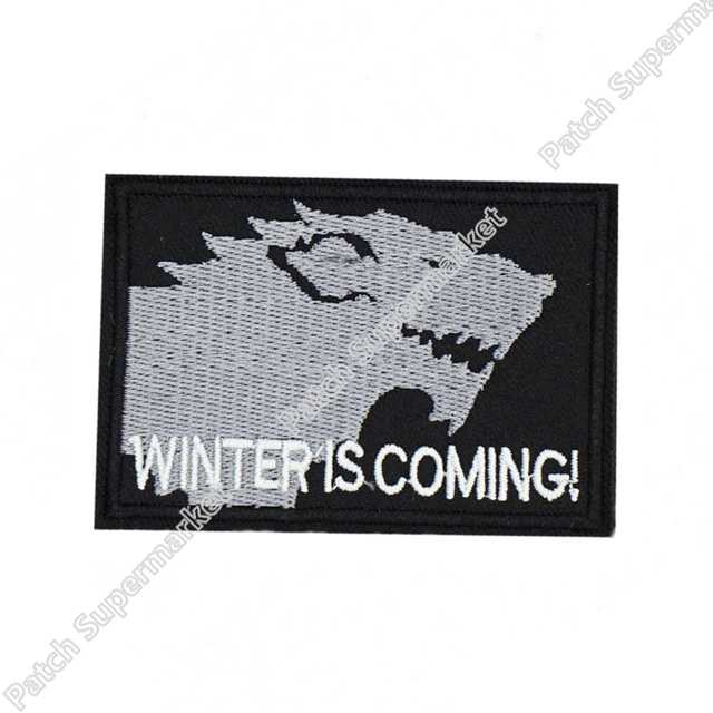 "Amazon. Com: game of thrones stark dire wolf ""winter is coming."