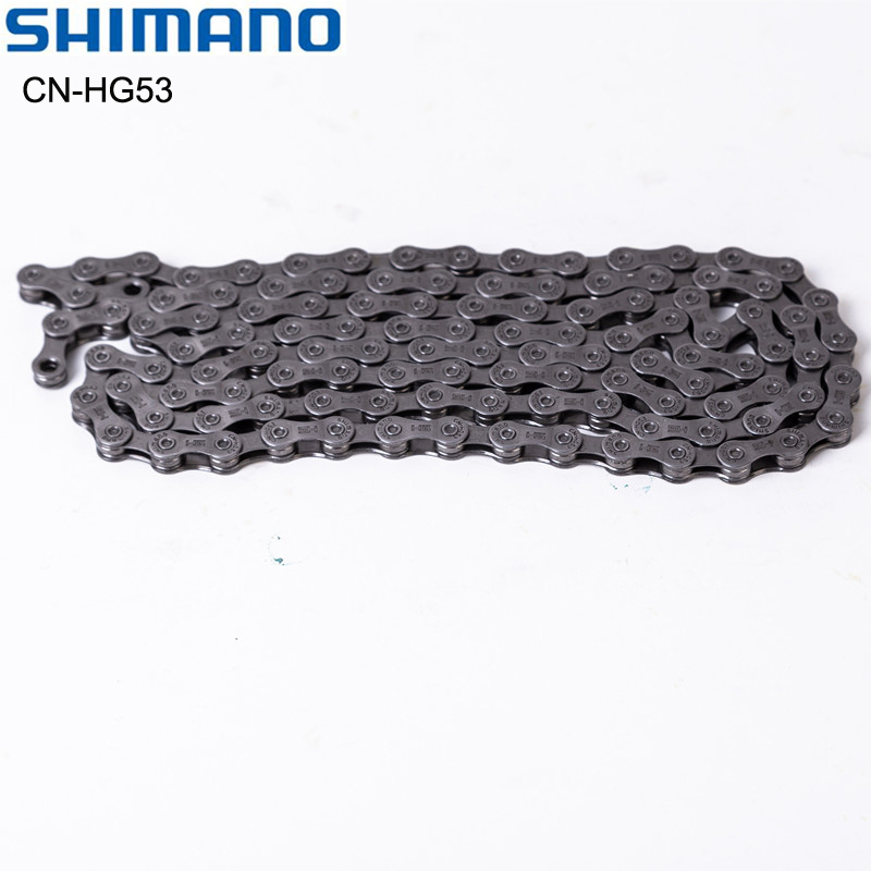 Shimano HG-53 HG53 9s Speed Bike Chain 116L Link MTB & Road Bicycle Part For M4000 M3000 M390 M370 Super Narrow HG Chains