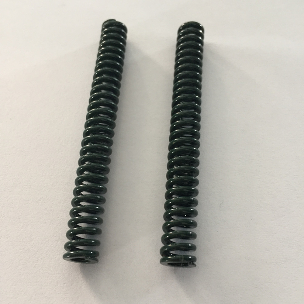 2Pcs Green Heavy Load Mould Compression Die Spring 20 X 10 X 25/35/45/65/75/80/90/100/150mm