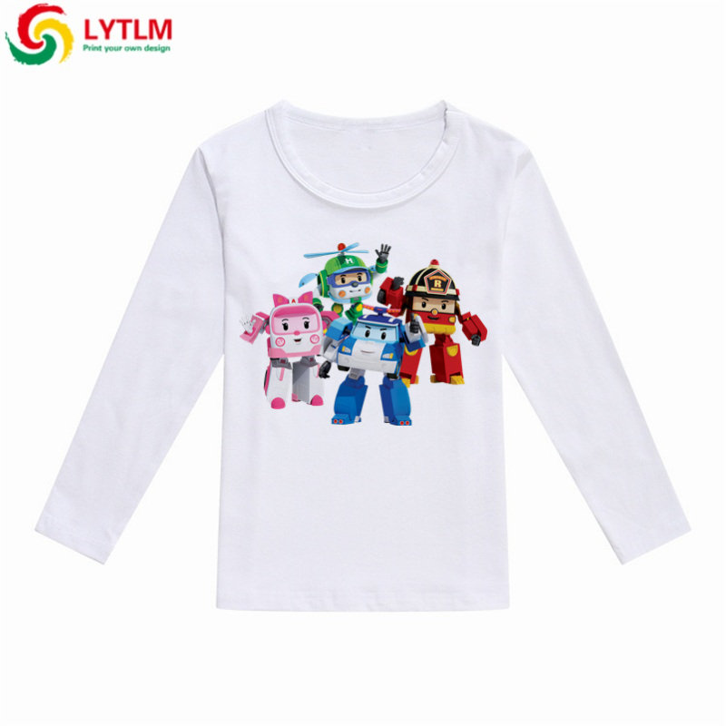 fa7041d7a 100% top quality b4936 dff00 lytlm robocar poli clothes girls kids ...
