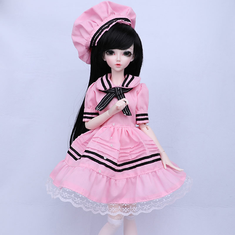 Новое поступление 1/4 BJD/SD Модная Кукла Lovel Chloe для маленькой девочки подарок на день рождения Полный комплект с лицом макияж
