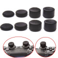 8 unids/set de silicona tapa para sony playstation ps4 controller thumbstick joystick para xbox 360/one/ps3