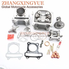 100cc 50mm NON EGR Big Bore Kit 9 Hole Camshaft Rocker Assy Tensioner for GY6 50cc
