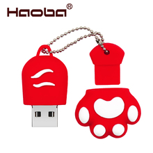 USB Flash Drive 32GB Cat claws Pen Drive 64GB Memory Stick 4GB 8GB 16GB 128GB U disk
