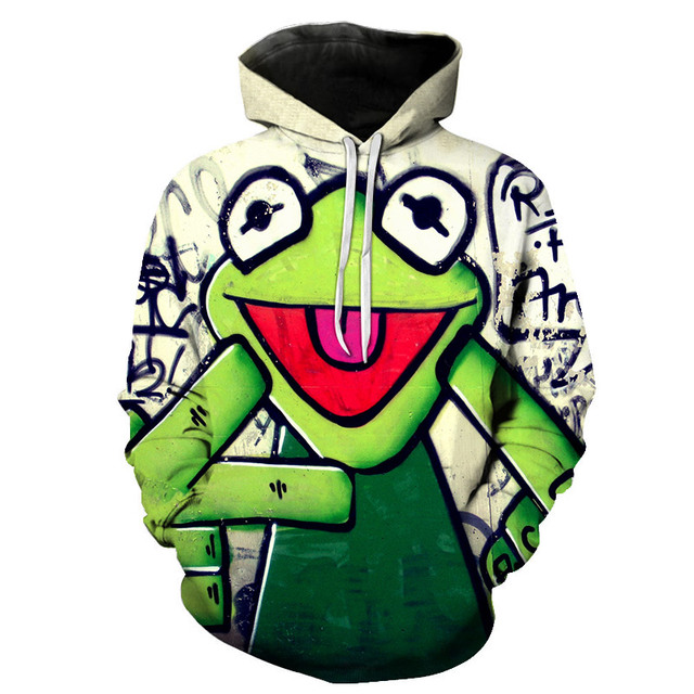New Sweatshirt Hoodies 3d Print Pepe The Frog Joggers Hip Hop Tops