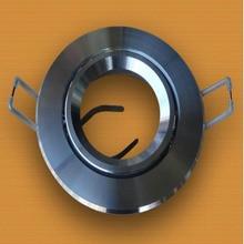 Высоколегкий чехол с двойным кольцом для лампы MR16, Светодиодная потолочная световая чашка 10 шт