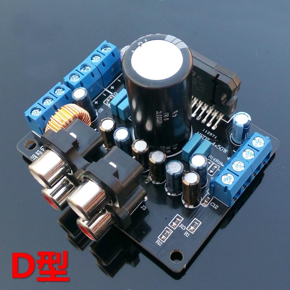 Simple power amplifier 4x50 W 36