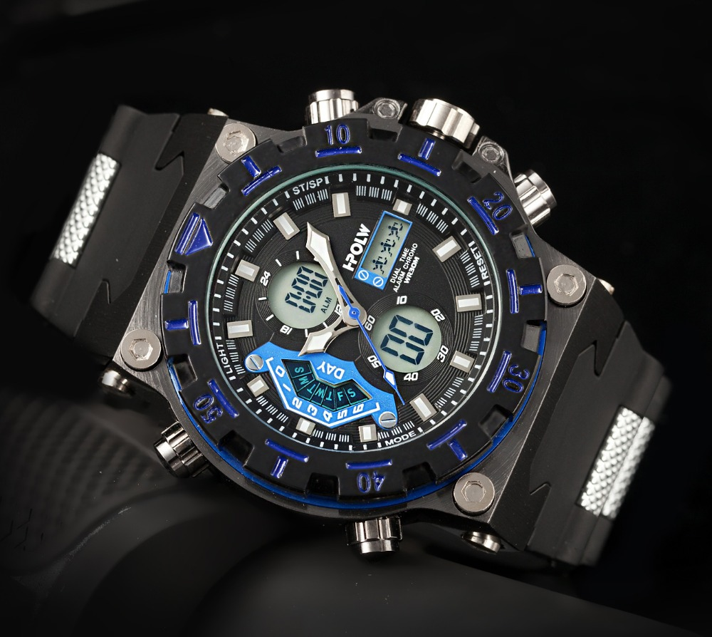 Luxury Brand Military Sports watches men Quartz Digital Watch Rubber band Wristwatches Relojes deportivos Relogio masculino