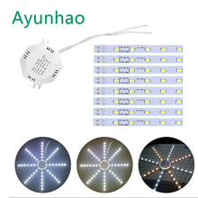 220V LED Wall Lamp 12W 16W 20W 24W 5730SMD Octopus lamp board ceiling retrofit light for Bedside Room Bedroom Arts