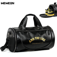 2017 High Quality Men Leather Travel Duffle Bag Sac De Voyage Cossbody Men Bag Bolsa De