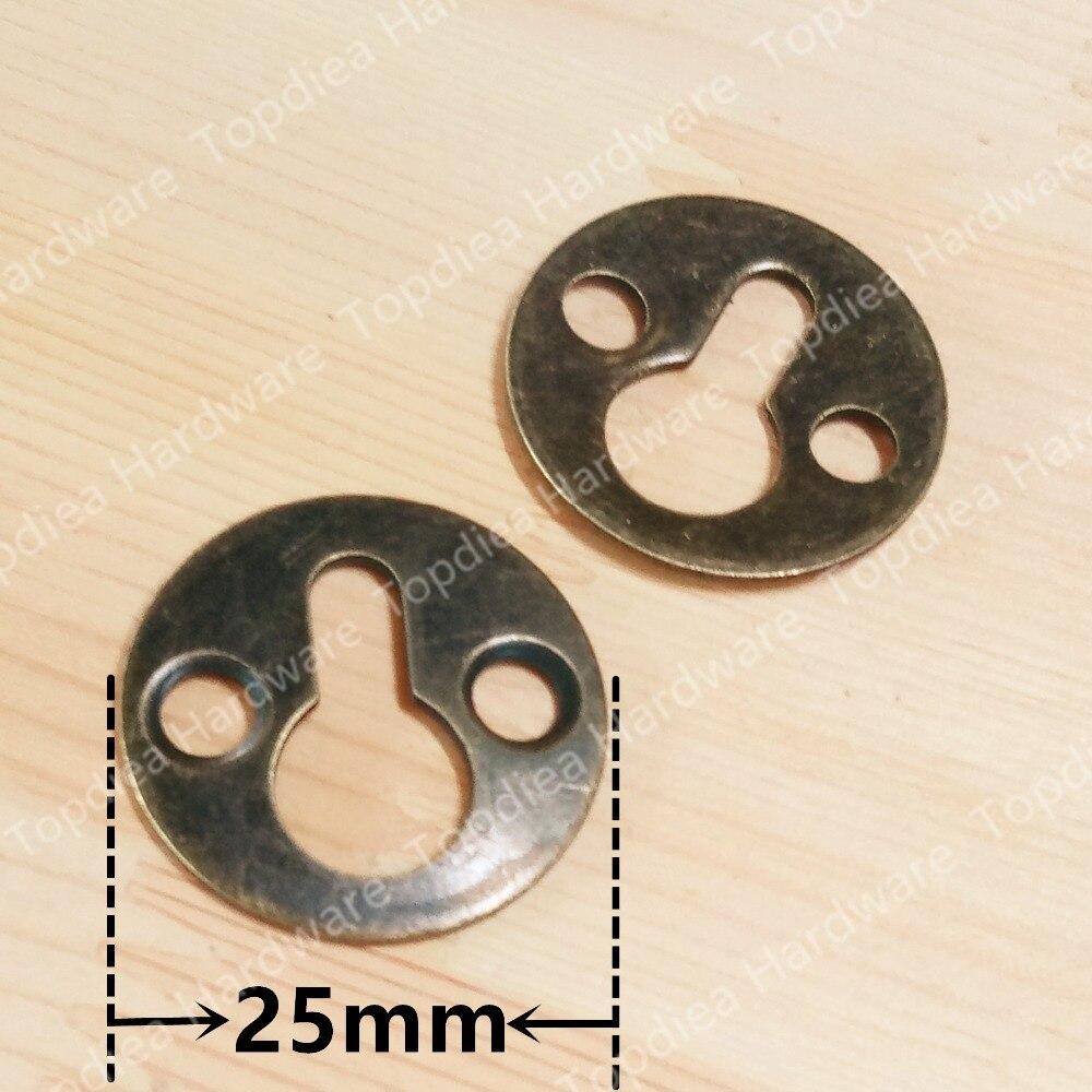 10pcs Diameter 25mm round frame hanging piece gourd hook iron box hanging piece
