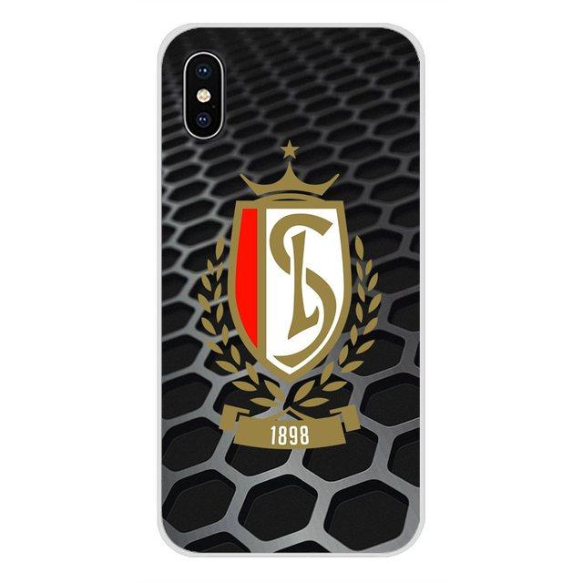 Équipe de football Standard liège pour Apple iPhone X XR XS MAX 4 4 S 5 5 S 5C SE 6 6 S 7 8 Plus ipod touch 5 6 coque de téléphone en Silicone
