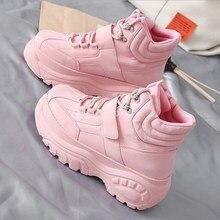 Новинка; Лидер продаж; повседневная женская обувь; сезон осень-зима; модные MS ботинки на толстой подошве; удобная теплая обувь белого цвета