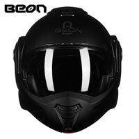 BEON 180 флип мотоцикл шлем модульный открытым полный уход за кожей лица шлем мото КАСКО Motocicleta Capacete шлемы ECE