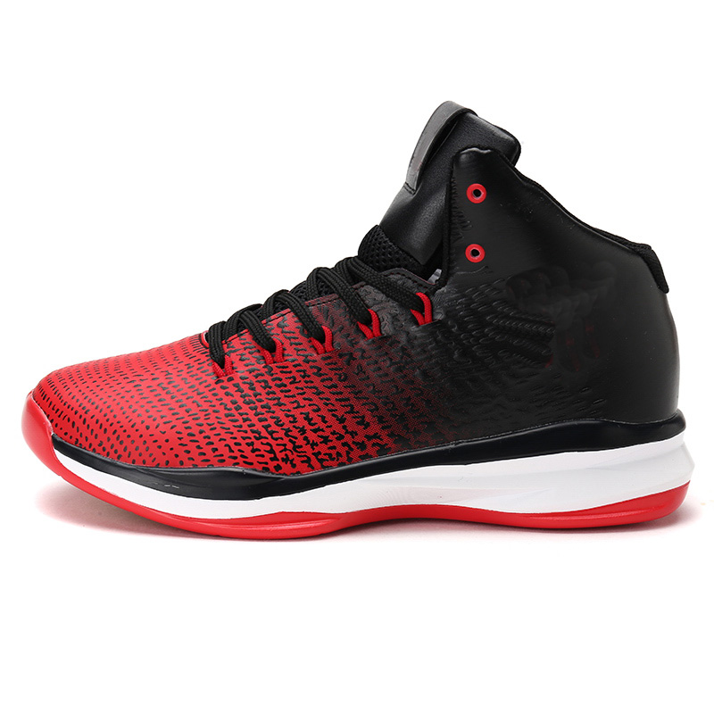 beda7b169d9 Basket Homme Tenis Basquete Men s Basketball Shoes Breathable Comfortable  Sneakers Outdoor Training Rubber High Ankle Boots