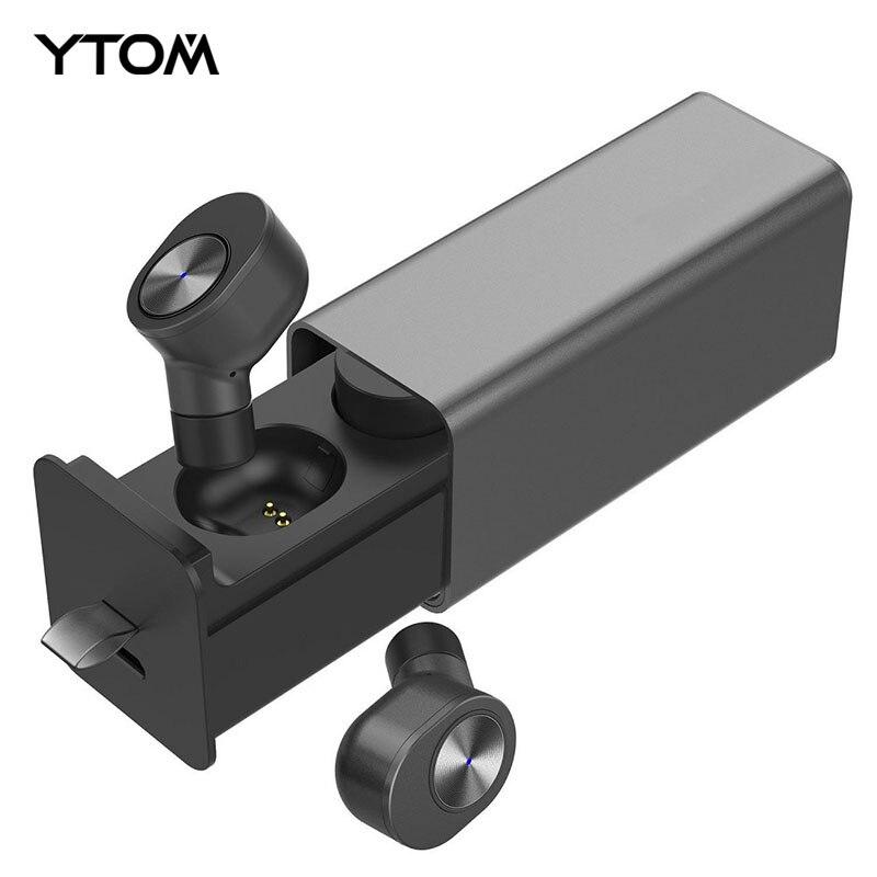 Wahre TWS Drahtlose Kopfhörer Sport Bluetooth V4.2 Earbuds Best Cordless Kopfhörer mit Mic Kleinste Stereo Sweatproof headset