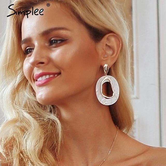 Geometric Vintage Earrings