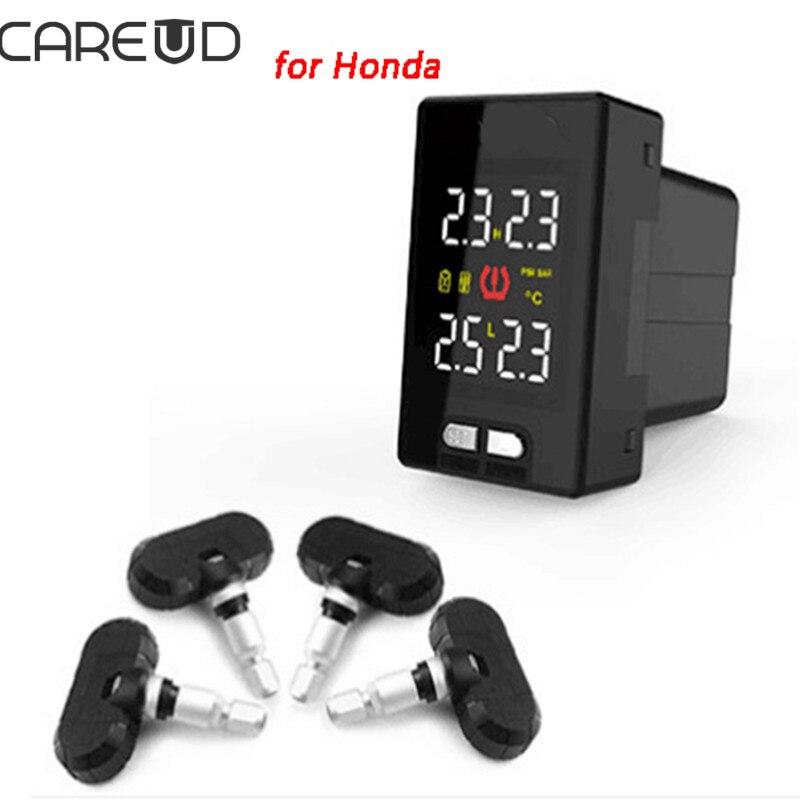 Check Tpms System Honda >> Us 82 98 15 Off Careud U912 Tpms For Honda Tire Pressure Sensors With 4 Pcs Internal Sensors Wireless Tire Pressure Monitoring System Honda In Tire