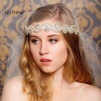 New 2018 Fashion Western High Quality Crystal Silver Women Korea Style Fashion Wedding Bridal Jewerly Set