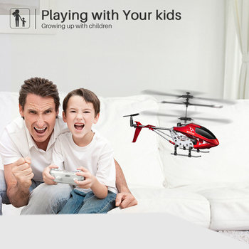 2.4G 3.5CH Hover Altitude Hold RC Helicopter With Gyro RTF - S107H 5
