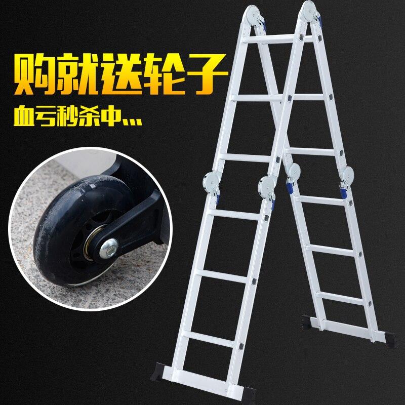 online kaufen gro handel aluminium dachboden leiter aus china aluminium dachboden leiter. Black Bedroom Furniture Sets. Home Design Ideas