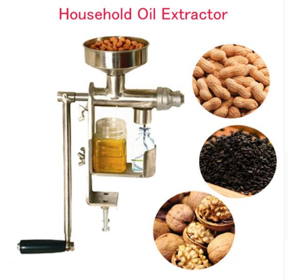 Manual Oil Press Machine Household Oil Extractor Peanut Nuts Seeds Oil Press Machine