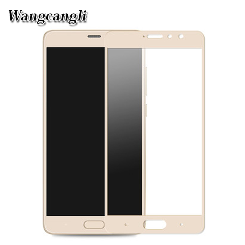 Wangcangli 3d tempered glass For xiaomi redmi 4 Pro glass protector HD for redmi Pro Full screen cover screen protection film 9h