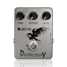 Digital Delay Guitar Effect Pedal Time Delay Repeat Level Adjustment Close To Analog Delay 25ms-600ms Delay Range Joyo JF-08