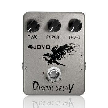 цена на Digital Delay Guitar Effect Pedal Time Delay Repeat Level Adjustment Close To Analog Delay 25ms-600ms Delay Range Joyo JF-08