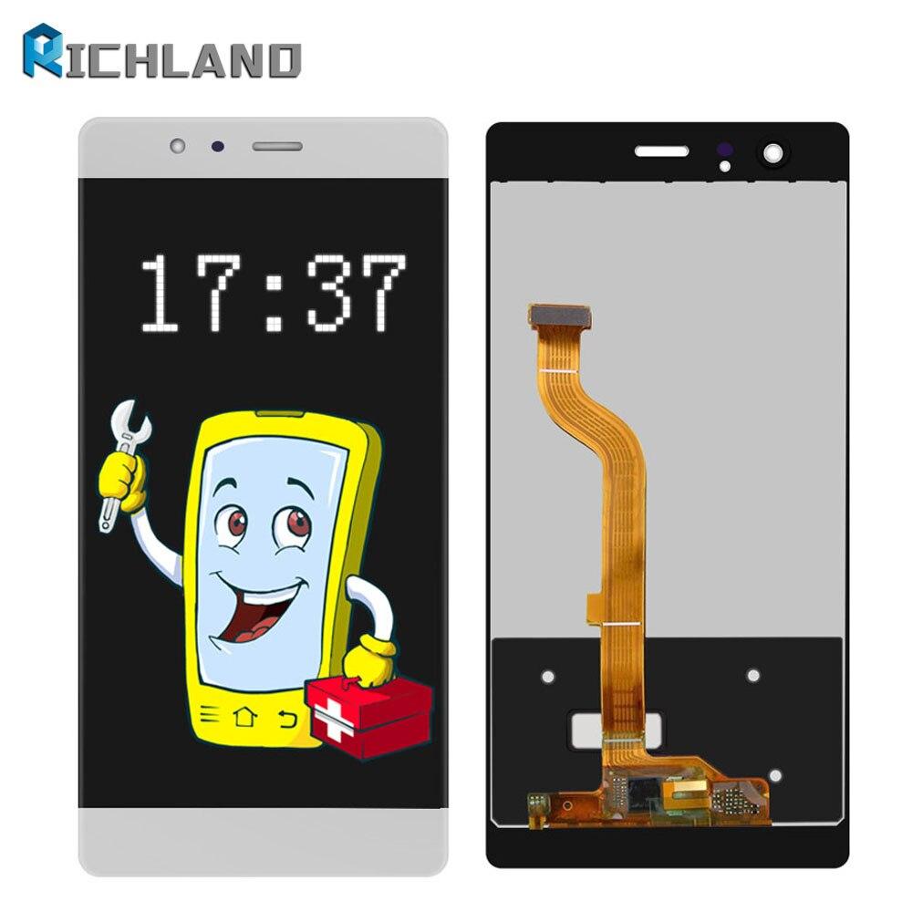 Highscreen Pour Huawei P9 EVA L09 4g LTE Écran LCD + 5 Écran Tactile LCD Digitizer Assemblée Pour huawei P9 Remplacement Pièces De Rechange