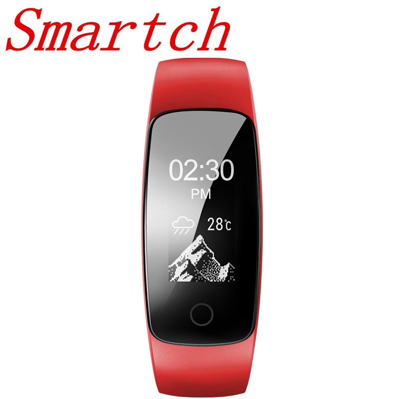 Smartch ID 107 ID107 Plus HR Smart Armband Activity Tracker Pulsometer uhr Herzfrequenz GPS Smart Band sport tester pk mi band