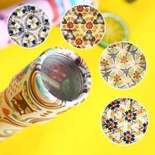 Magic Kaleidoscopes Toys Rotating Stretchable Colorful World Imaginative Classic Educational Toy for Children Kaleidoscope Gift