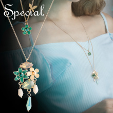 The special, European and Necklace with pendant, multi-layer, gas-style courtyards.