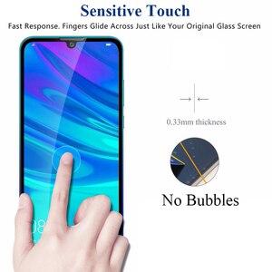 Image 4 - 1 2 sztuk szkło ochronne na P Smart 2019 szkło bezpieczne hartowane 9H dla Huawei P inteligentny + Plus / Pro / Z 2019 ochraniacz ekranu HD