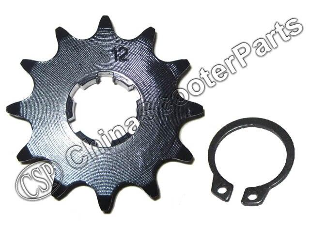 ̿̿̿ ̪ 12 Tooth 420 17mm Sprocket Sprocket For Taotao 12t