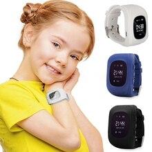 Smart watches Children Kids Anti-Lost Smart Watch GPS Locating Tracker SOS Call Location Finder Wristwatch child locator tracker цена