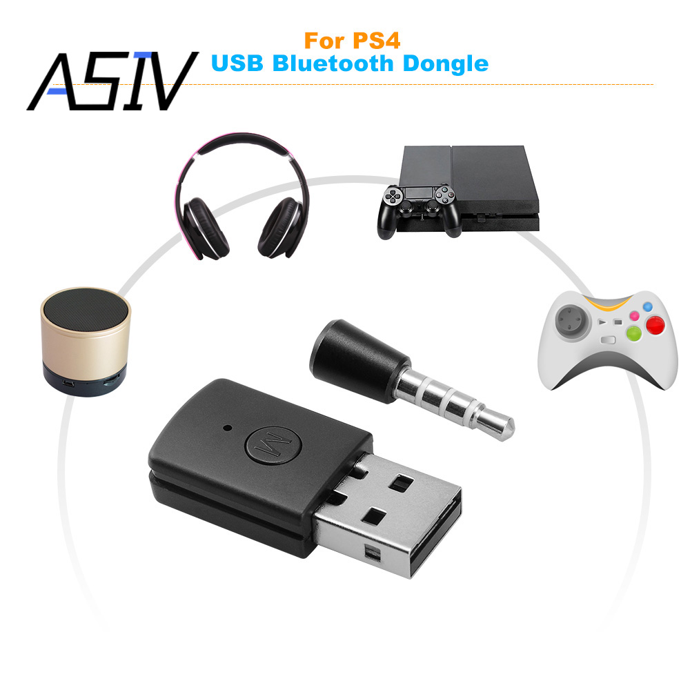 Асив приемник <font><b>Bluetooth</b></font> адаптер 4.0 A2DP ключ Беспроводной USB адаптер для PS4/ТВ/pc наушники