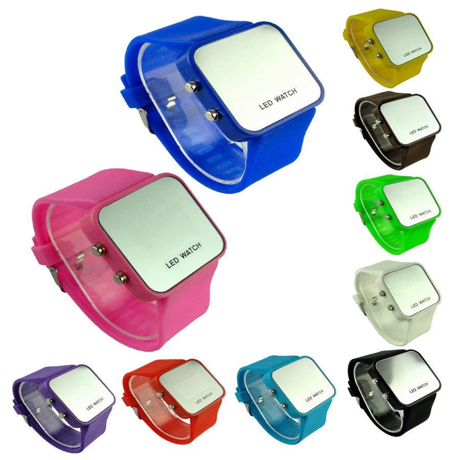 Molto orologi digitali ha portato orologio da polso specchio student  BH35