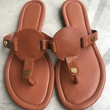Lady Miller Leather Slides
