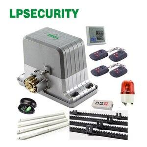 Image 2 - LPSECURITY ouvre porte coulissant étanche, automatique et télécommande, pour poids de 1800kg, pour porte coulissante, pour les opérateurs de porte